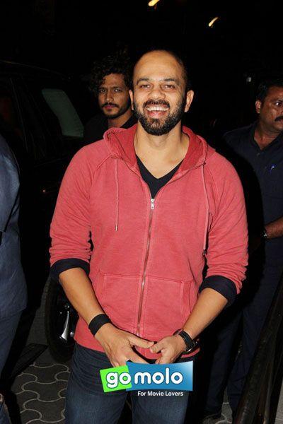 Rohit Shetty at the Screening of Hindi movie 'Dilwale' at PVR ICON in Versova, Mumbai