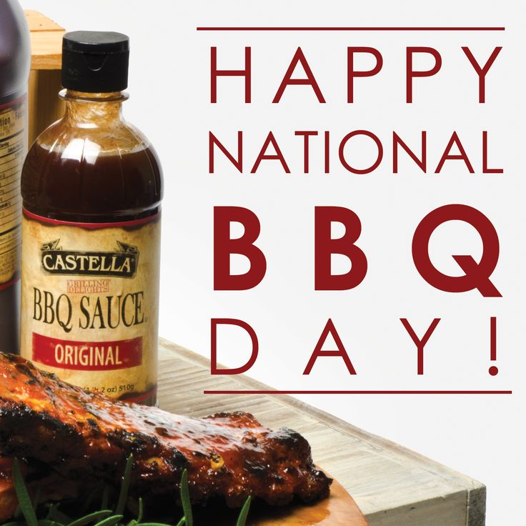 Happy National BBQ Day! Castella BBQ Sauce is the only sauce you will need on and off the grill! Its sweet and smoky flavor is perfect for brushing on steaks, chicken, ribs, seafood or anything that warrants a truly authentic bold & rich taste! It also makes a great dipping sauce. Get a FREE 18oz BBQ Sauce with any purchase of $25 or more from the Castella Marketplace - SHOP NOW: http://www.castellamarketplace.com/bbqsauce18oz.aspx