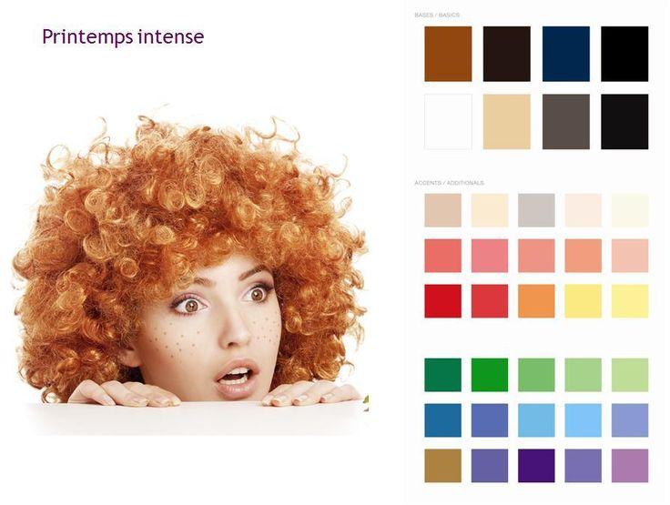 Colorimétrie : Printemps Intense