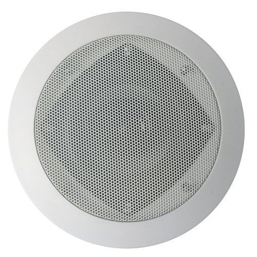 """Acoustic Audio CS-IC43 200 Watt 4"""" 3-Way Home Theater In-Wall/Ceiling Speaker by Acoustic. $27.99. The Acoustic Audio CS-IC43 4"""" in-wall/in-ceiling surround sound speaker is ideal for any home, office or entertainment area because it is designed with supreme performance in mind. It handles 200 watts of power and includes: a 4"""" Poly cone woofer and a Poly-Mica midrange and a Poly-Mica midrange for improved motion and higher bass response, a butyl rubber surround, a prog..."""