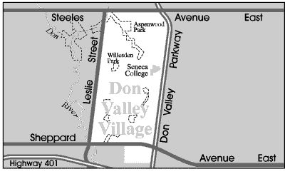 Don Valley Village is a low to middle income #neighbourhood that includes many new Canadian citizens of Armenian, Chinese, East Indian and Middle Eastern backgrounds.