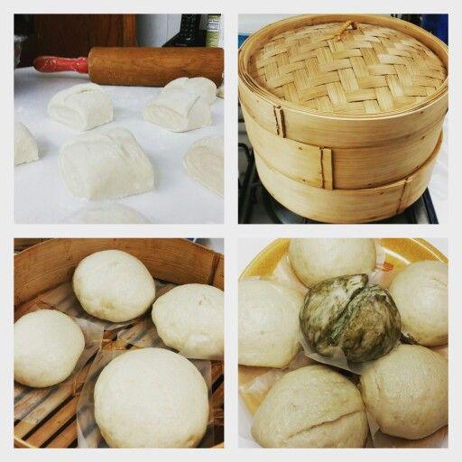 Home made Manjou / chinese buns / bollos chinos