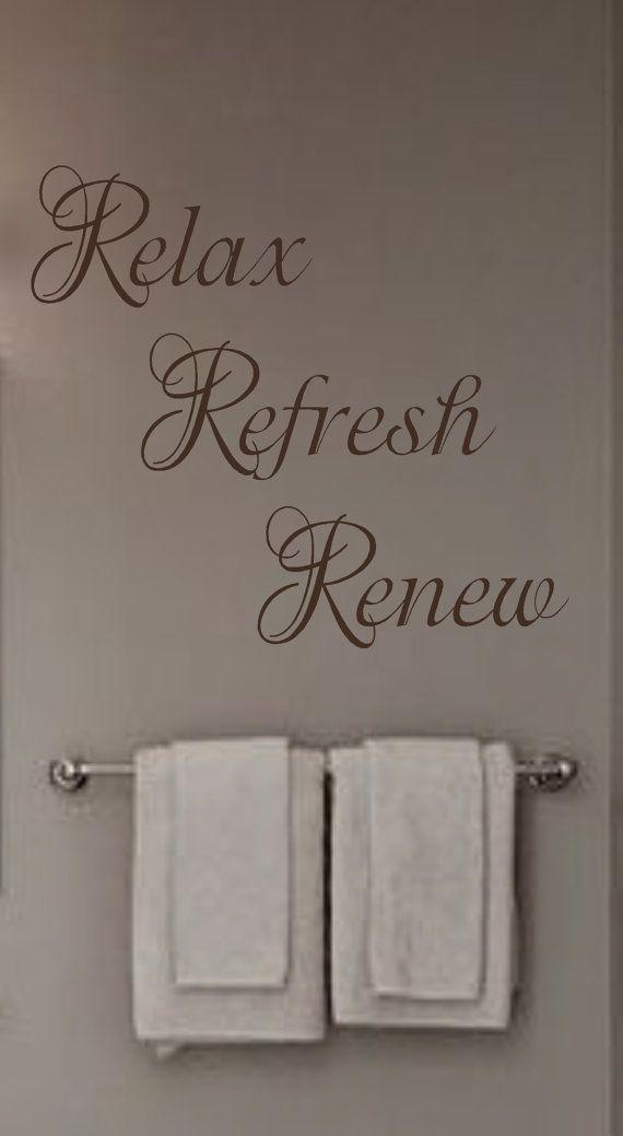Best 25+ Bathroom wall decals ideas on Pinterest | Wall ...