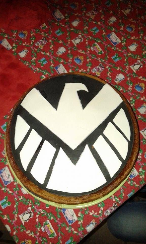 My cake of Shield :)