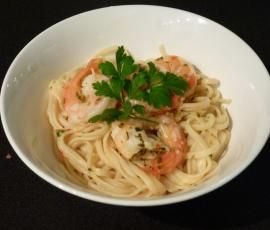 Recipe Lemon & Chilli Prawn Linguini by mariack - Recipe of category Main dishes - fish