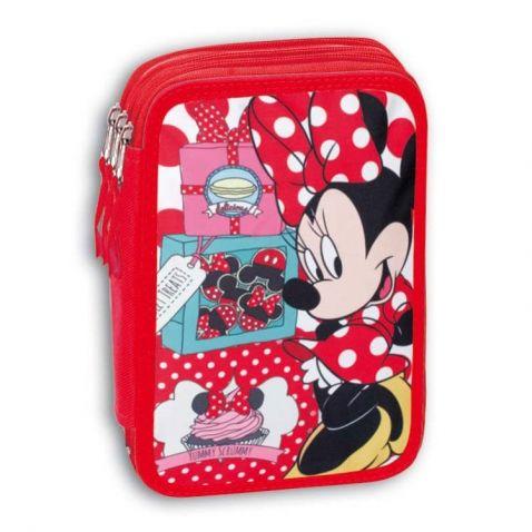 Minnie Mouse - Třípatrový školní penál s výbavou