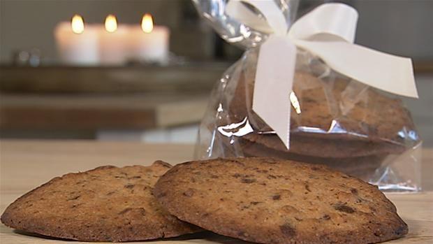 Mette Blomsterbergs Valnødde-cookies