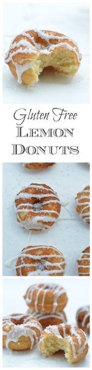 Gluten Free Lemon Donuts
