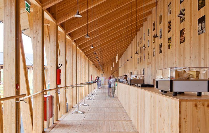 Slow food-paviljongen av Herzog & de Meuron. Foto Marco Jetti.
