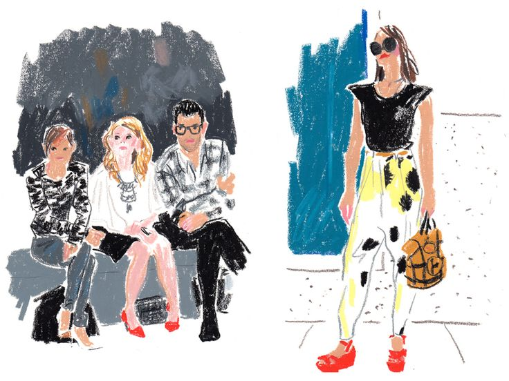 New York Fashion Week SS14 for T by  damien florebert cuypers