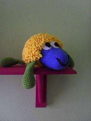 108 besten Sheep Crochet Patterns Bilder auf Pinterest | Kostenlos ...