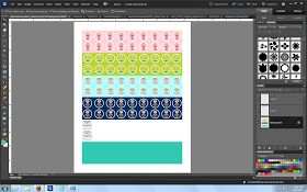 (Use Photoshop to create your own calendar stickers) Diy planner stickers