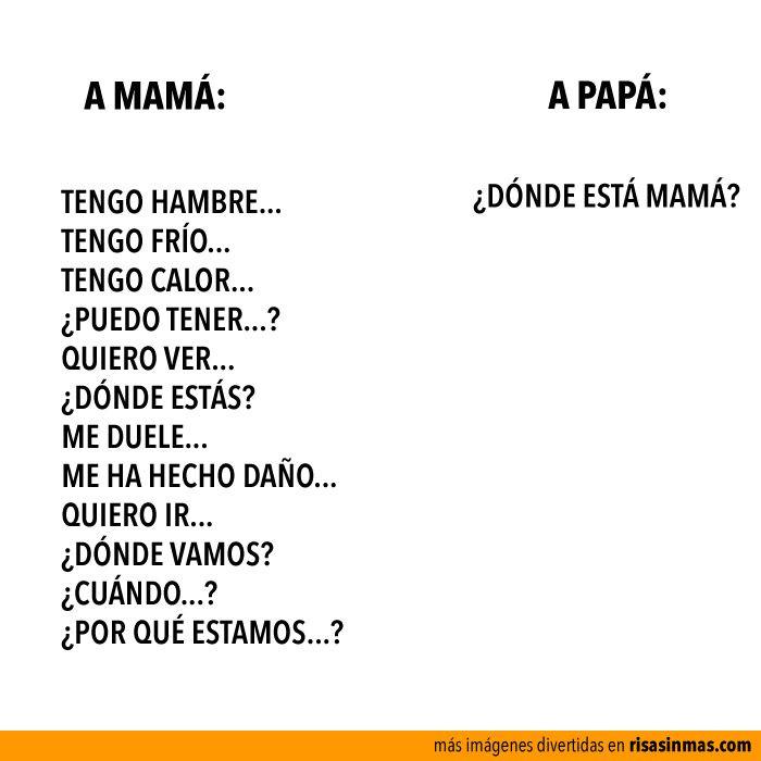 Mamás y papás. (pineado por @PabloCoraje) #Citas #Frases #Quotes