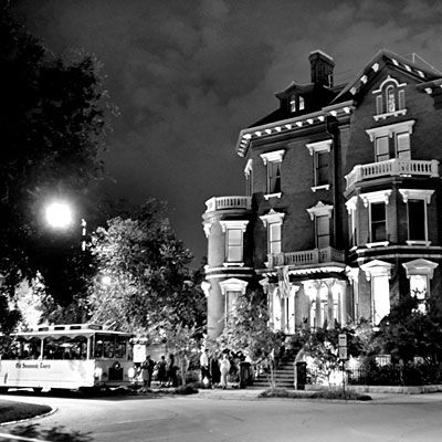 """Staffer's Stay at Kehoe House    """"If you stay here, you'll notice the inn is a popular stop on the city's ghost tours—which says a lot for a town said to be the most haunted city in America."""