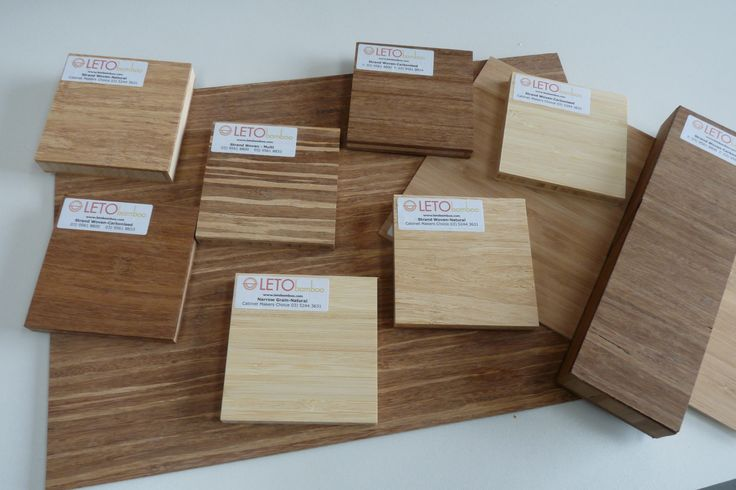 LETO bamboo comes in a variety of shades. Ideal for your next cabinetry project.