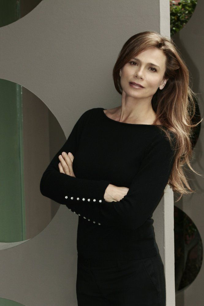 Lena Olin in Welcome to Sweden (2014) age 59!