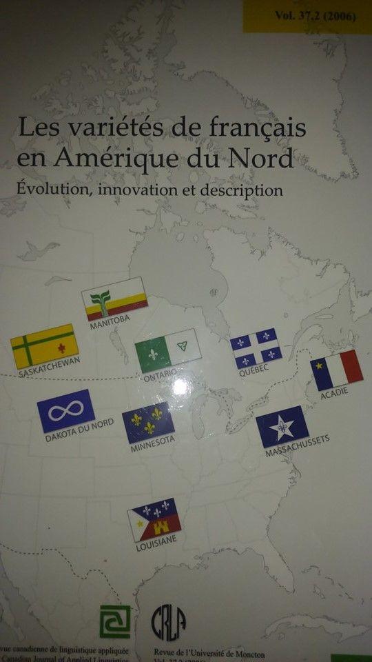 Les variétés de français en Amérique du Nord : évolution, innovation et description (sous la direction de Robert A. Papen et Gisèle Chevalier)