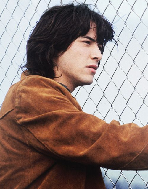 Keanu Reeves in Permanent Record, 1988