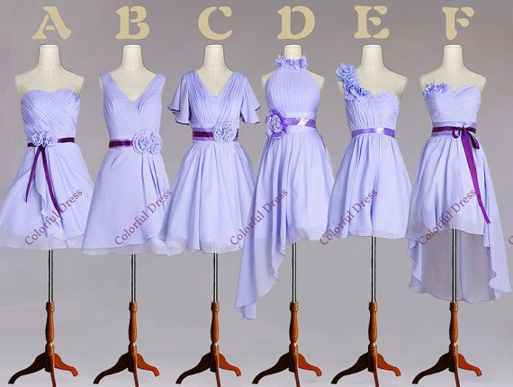Sweet Six Style Six Kinds of Choice Flower by ColorDress on Etsy