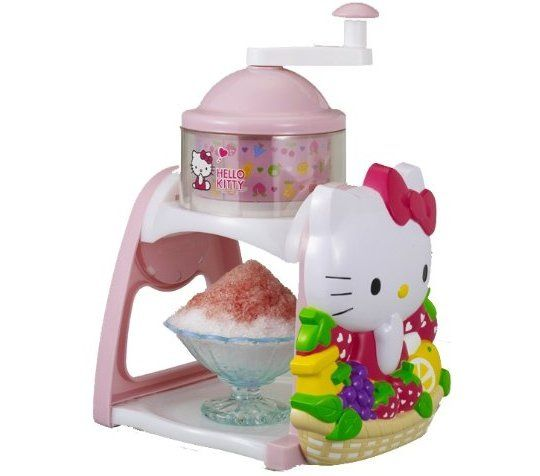 Ice machine! Hello kitty