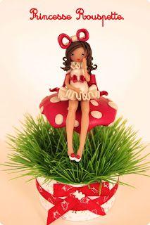 Princesse rouspette: La petite Elodie.
