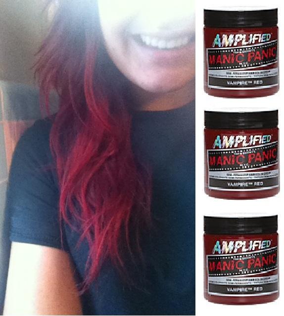 Manic Panic Hair Dye in Vampire Red #COLORSOFSUMMER