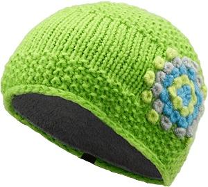 Hepcat Hat Women's Wool/acrylic blend toque with a fleece underband