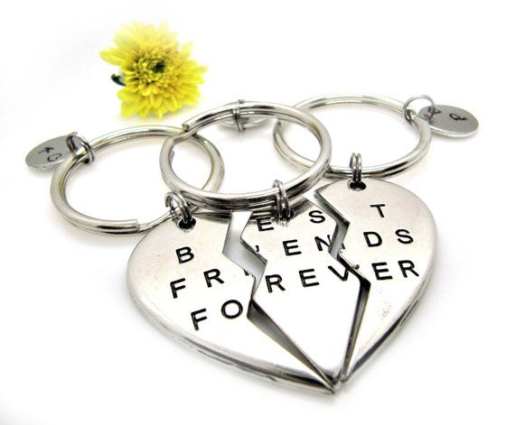 Gift for friends Bracelet with stamped initial Gold plated Sterling silver ALMA.