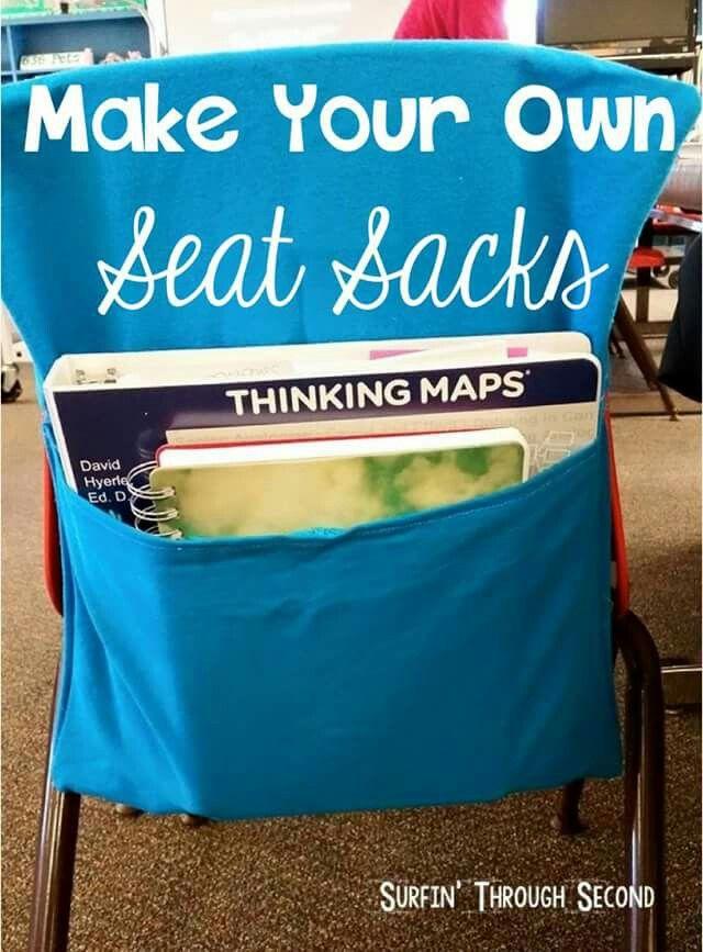 Diy seat sacks