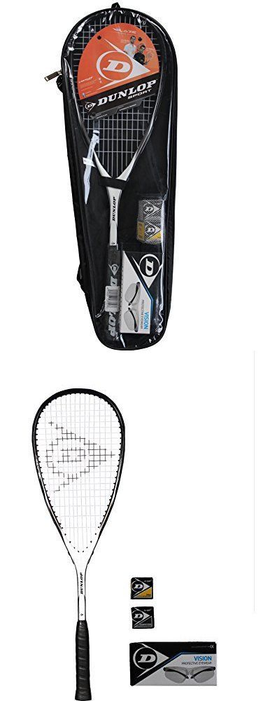 Squash 62166: Dunlop Squash Court Pack Squash Racket, New -> BUY IT NOW ONLY: $61.99 on eBay!