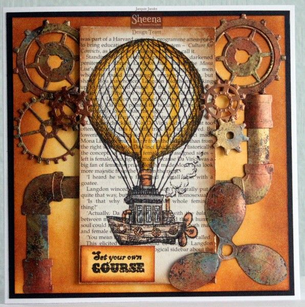 Sheena Douglass' Time Traveller