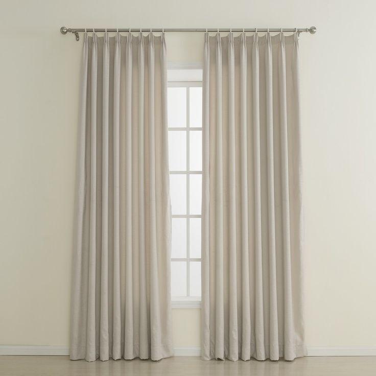 Embossed Polyester Classic Flame-retardant Curtain   #curtains #decor #homedecor #homeinterior #beige