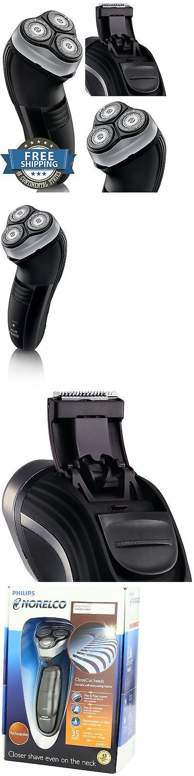 Mens Shavers: Philips Norelco Mens Cordless Electric Shaver Close Shave Beard Razor BUY IT NOW ONLY: $48.85