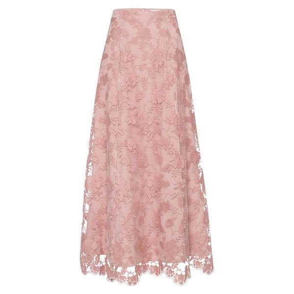 Ivy Oak Rock Embroidered Evening Skirt Altrosa Altrosa Zalando Rosa