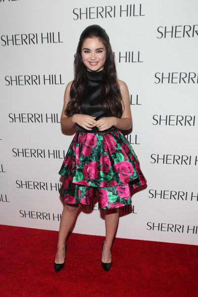 Landry Bender Photos Photos - Landry Bender attends Sherri Hill fashion show at…
