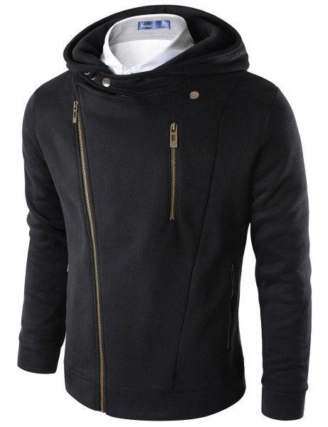 Doublju - Jaqueta Zipup Casual com Capuz Compre roupas de qualidade, com design inovador e preço justo!