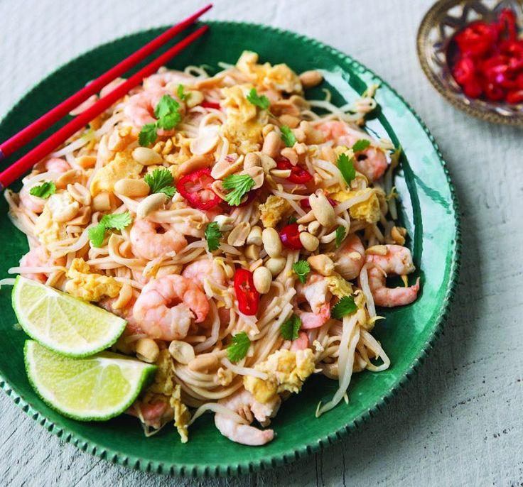 Delicious Prawn Pad Thai