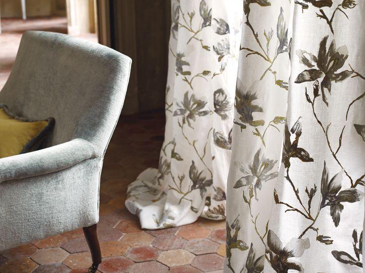 Mit diesem Vorhang holt ihr euch den Sommer in die eigenen vier Wände.  Fotocredits: ROMO
