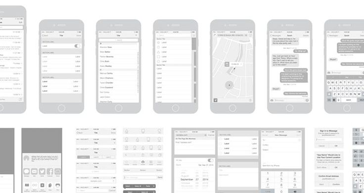 50 Free Wireframe Templates For Mobile Web And Ux Design Free Iphone 6 Wireframe Template Free Iphone