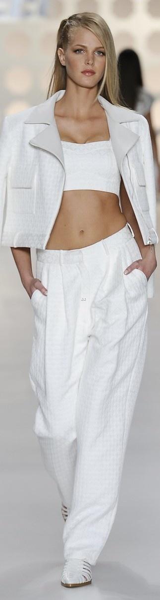 Erin Heatherton for Colcci 2013-2014....Sao Paulo Fashion Week