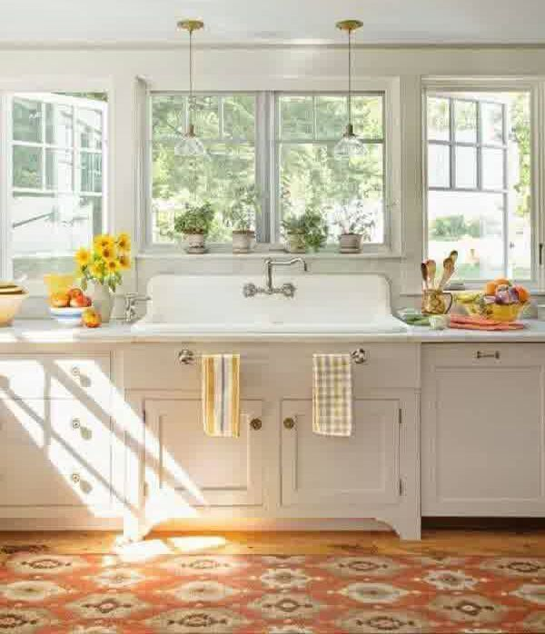 20 Vintage Farmhouse Kitchen Ideas Part 58