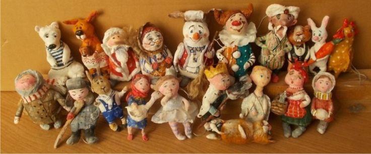 Старинные игрушки своими руками