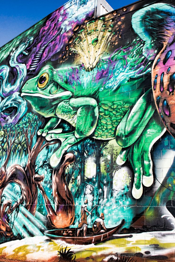 Toowoomba's annual street art festival | 2 Aussie Travellers