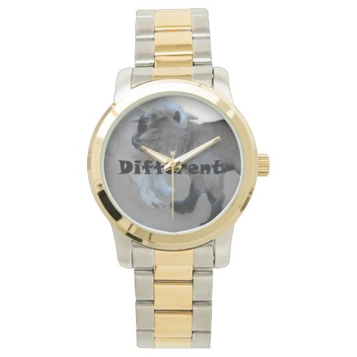 Dare to be different wrist watch