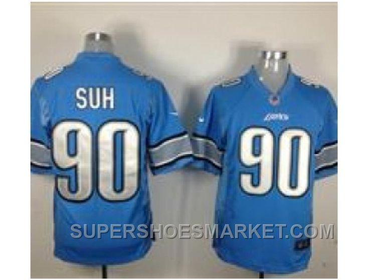 http://www.supershoesmarket.com/nike-nfl-detroit-lions-90-ndamukong-suh-blue-game-jerseys-new-style.html NIKE NFL DETROIT LIONS #90 NDAMUKONG SUH BLUE GAME JERSEYS NEW STYLE Only $23.29 , Free Shipping!