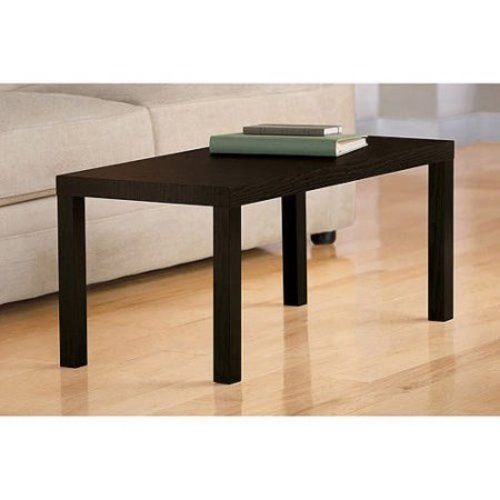Rectangular Wood Coffee Table Living Room Furniture Contemporary Espresso NEW #1 #Contemporary