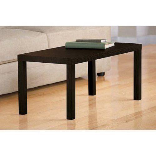 Rectangular Wood Coffee Table Living Room Furniture Contemporary Espresso NEW #1 #Contemporary