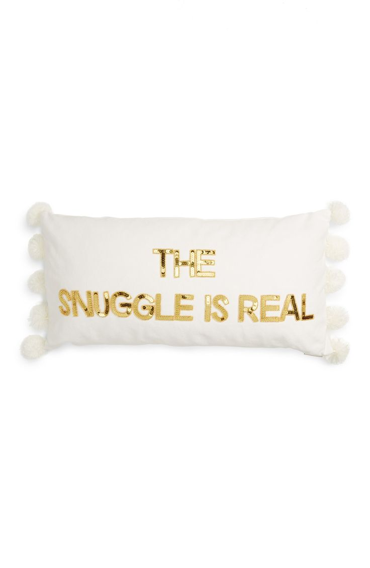 Snuggle is Real Acccent Pillow