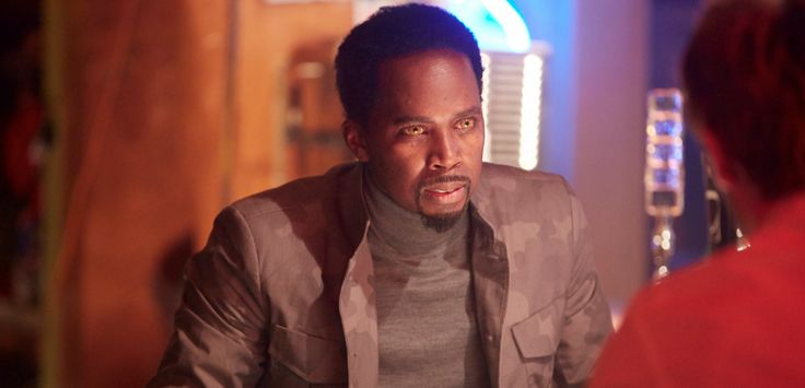 Harold Perrineau - Constantine - NBC - Series Premiere -  Friday Oct 24 10/9c