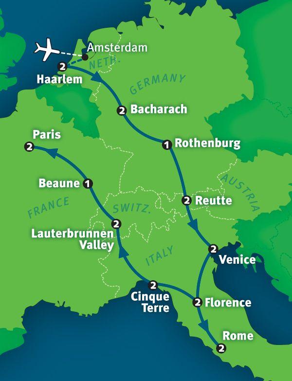 Best European Tour Package: 21 Days in Europe by Rick Steves | ricksteves.com